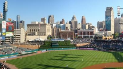 Comerica Park From Upper Deck