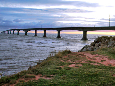 The Bridge From Prince Edward Island