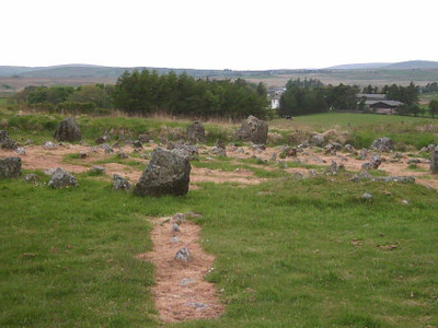 Stone Circle At Beaghmore
