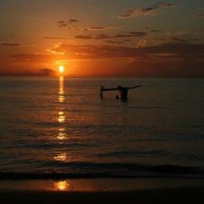 Sunset At Robinson Mayotte