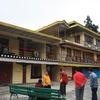 Courtyard Of Enchey Monastery