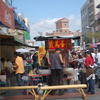 Crowded Food Stalls In Kaohsiung