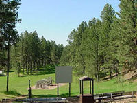 Custer Legion Lake Campground