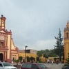 Churches In The Center Of The City Of Cadereyta