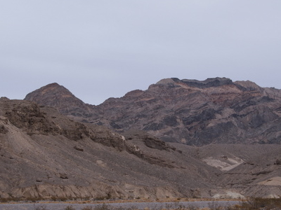SR 190 In Death Valley National Park