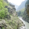 Chandrabhaga River Through Pangi Valley . J P G R