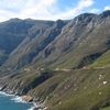 Chapman's Peak Drive Leading Down To Hout Bay