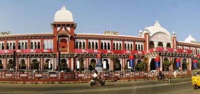 Chennai  Egmore Facade Panorama