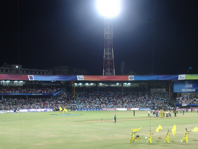 Chennai Super Kings Vs Kings XI Punjab At Wankhede Stadium