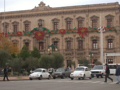 The Government Palace In Chihuahua