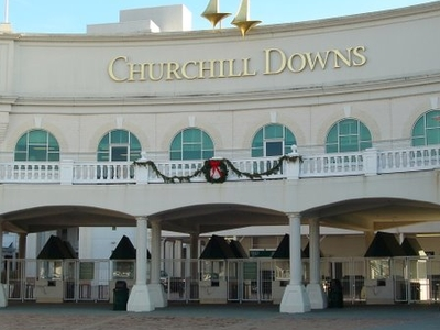 Churchill Downs Entrance Gate