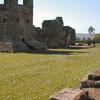 Courtyard Of The Trinidad Ruins