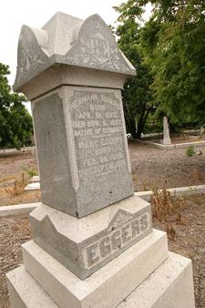 Herman Eggers Family Memorial