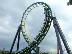 Dragon Fire Roller Coaster