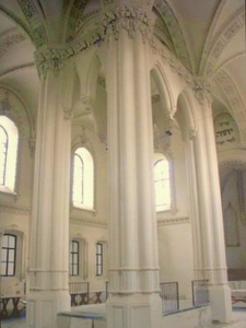 Interior View Of Great Synagogue
