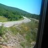 Train Passing Near Knin