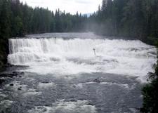 Dawson Falls . Wells Gray