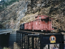Denver And Rio Grande Western Railroad Narrow Gauge Trestle