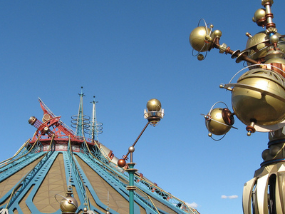 Orbitron And Space Mountain