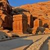 Djinn Blocks At Petra - Jordan