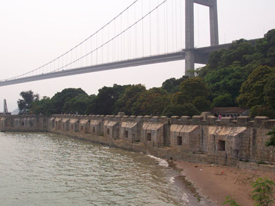 Humen Bridge And The Weiyuan Fort