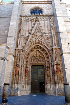 Door Of Saint Miguel