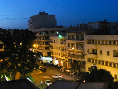 Downtown Meknes At Dusk