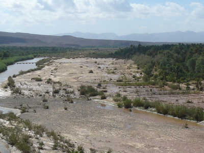 The Draa River