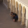 Catching Up Inside Hawa Mahal