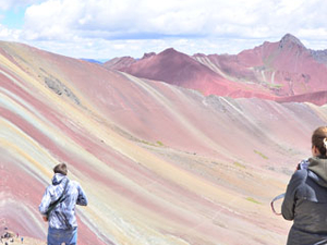 Day Trip Rainbow Mountain Peru Photos