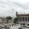 View Mecca Masjid With Front Road & Cab Stand