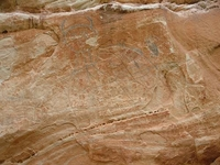 View Of Medicine Lodge Rock Art