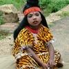 Child Devotee Dressed As Shiva