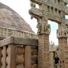 David - Admiring At A Stupa Entrance