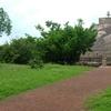 Landscape Around The Stupas