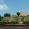 Temple Erected On A Raised Platform
