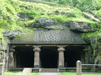 Elephanta Cave Entrance