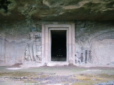 Elephanta Caves Doorway