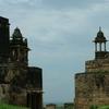 Jehangir Mahal Structures