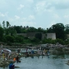 Villagers At Betwa River