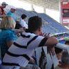 Engrossed Spectators