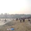 An Evening At Chowpaty Beach