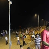 Juhu Beach - Night Crowd