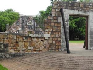 Darwin Townhall Ruins