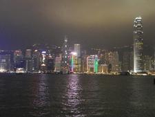 Hong Kong CBD - Night Sky