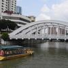 Iron Suspension Bridge - Thih Tiau Kio