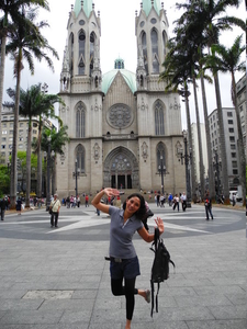 Ann Urmann At Sao Paulo Catedral