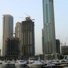 Emirates Crown (second Furthest Building To The Left)
