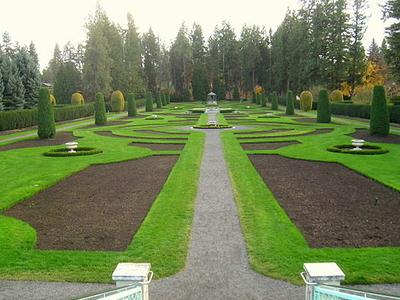 Manito Park Botanical Gardens Spokane United States