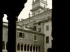 Cathedral Cloister With Sanmicheli\\\'s Bell Tower